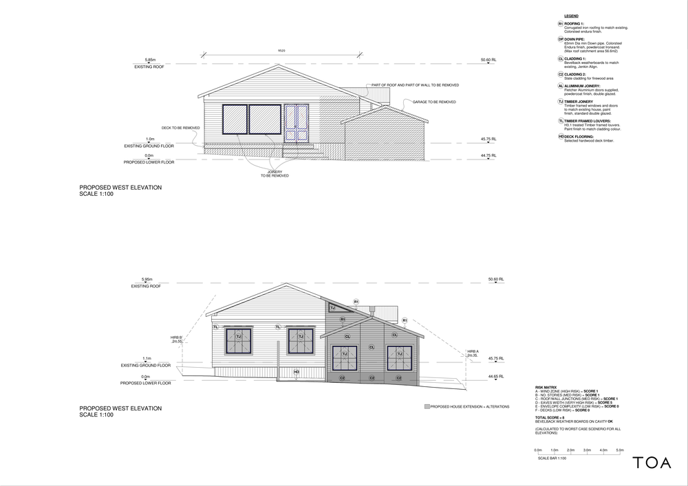 8 WESTMINSTER RD - BC WORKING FILE (2) - Sheet - A4-04 - WEST ELEVATIONS.png