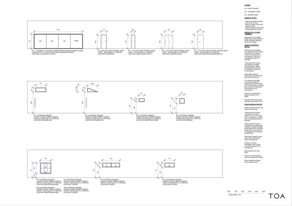 8 WESTMINSTER RD - BC WORKING FILE (2) - Sheet - A6-01 - DOOR + WINDOW SCHEDULE.png