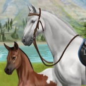 Howrse  is one of the hottest horse games out there, with over a million players breeding horses and managing their own equestrian centers.  >>