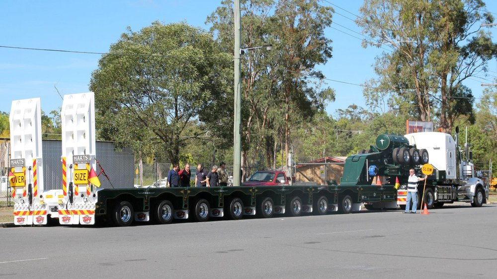 Steerable Low Loaders