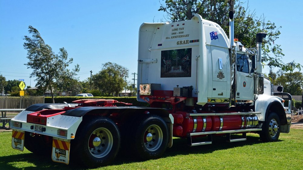 Western Star Dedicated To The Long Tan 50th Anniversary Commemorations