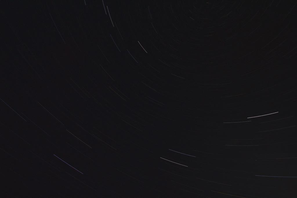 First Star Trail