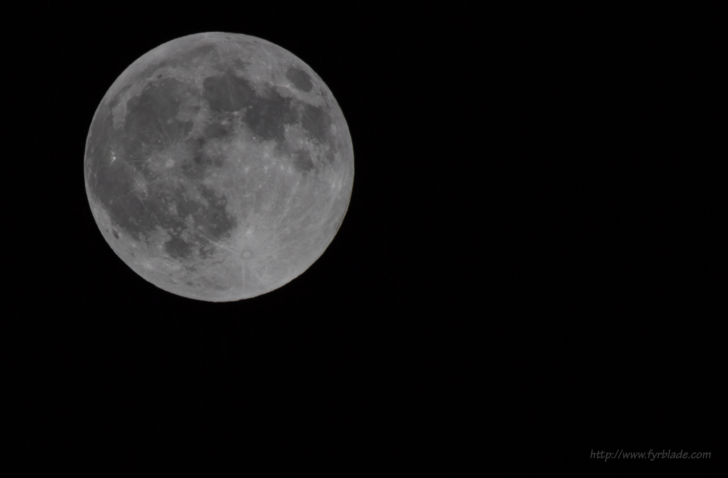 Full moon at 2x500mm