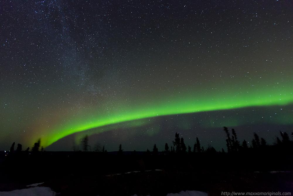 Progression of the Northern Lights