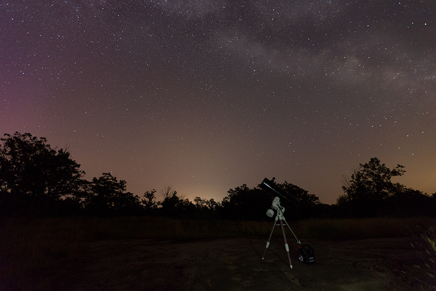 The new scope under the stars