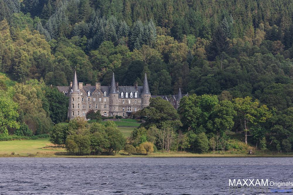 A Hotel near Loch Ness
