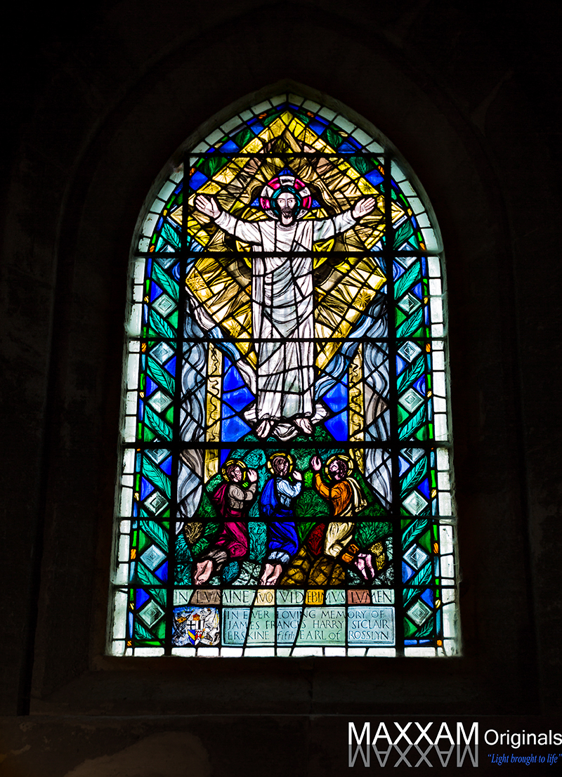 Stained Glass of Rosslyn Chapel