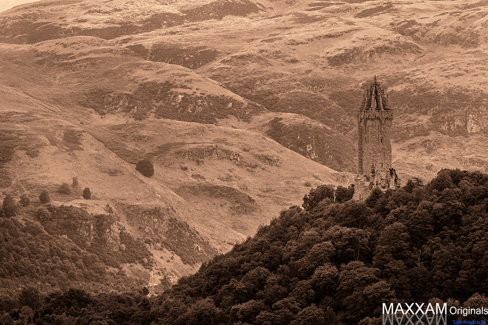 "The ""new"" Wallace Monument"