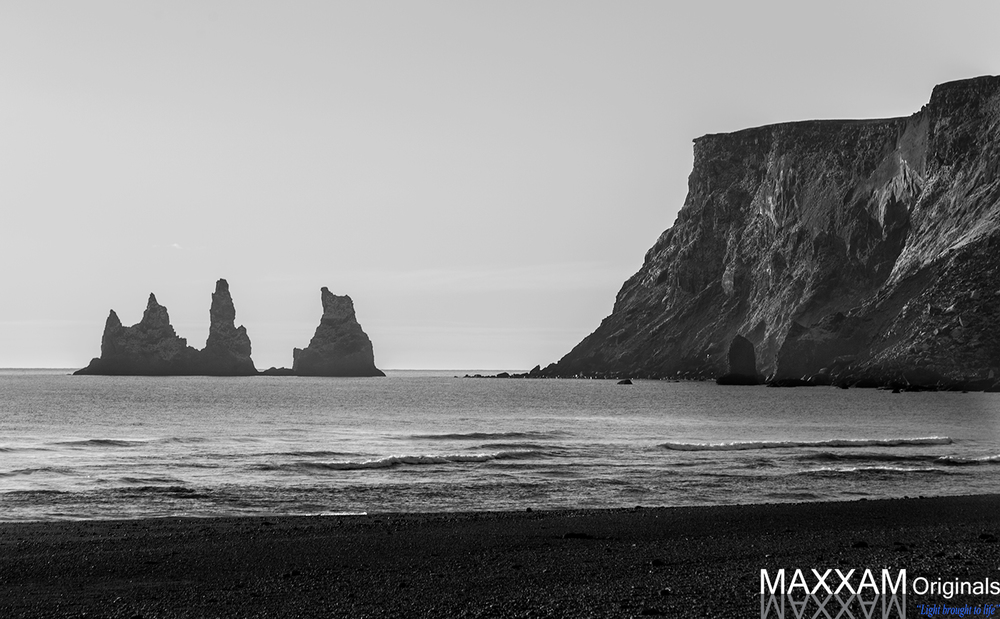 Reynisfjara is home to black sand beaches