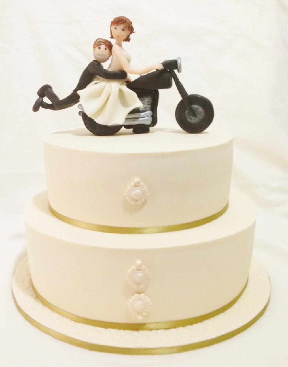 Motorbike Couple Anniversary Cake1.jpg