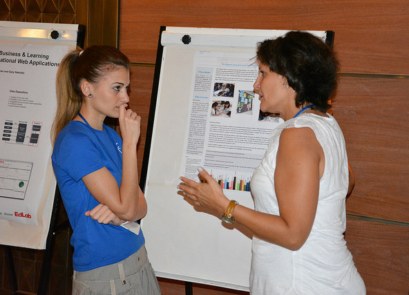 Ms. Rontogiannis at ICALT2014