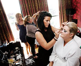 Freelance Hair and makeup team