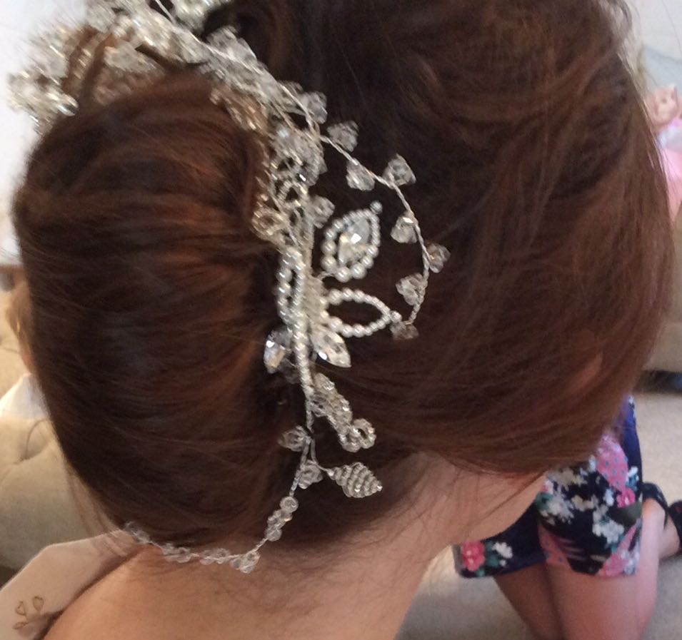 Bride hair Cheshire