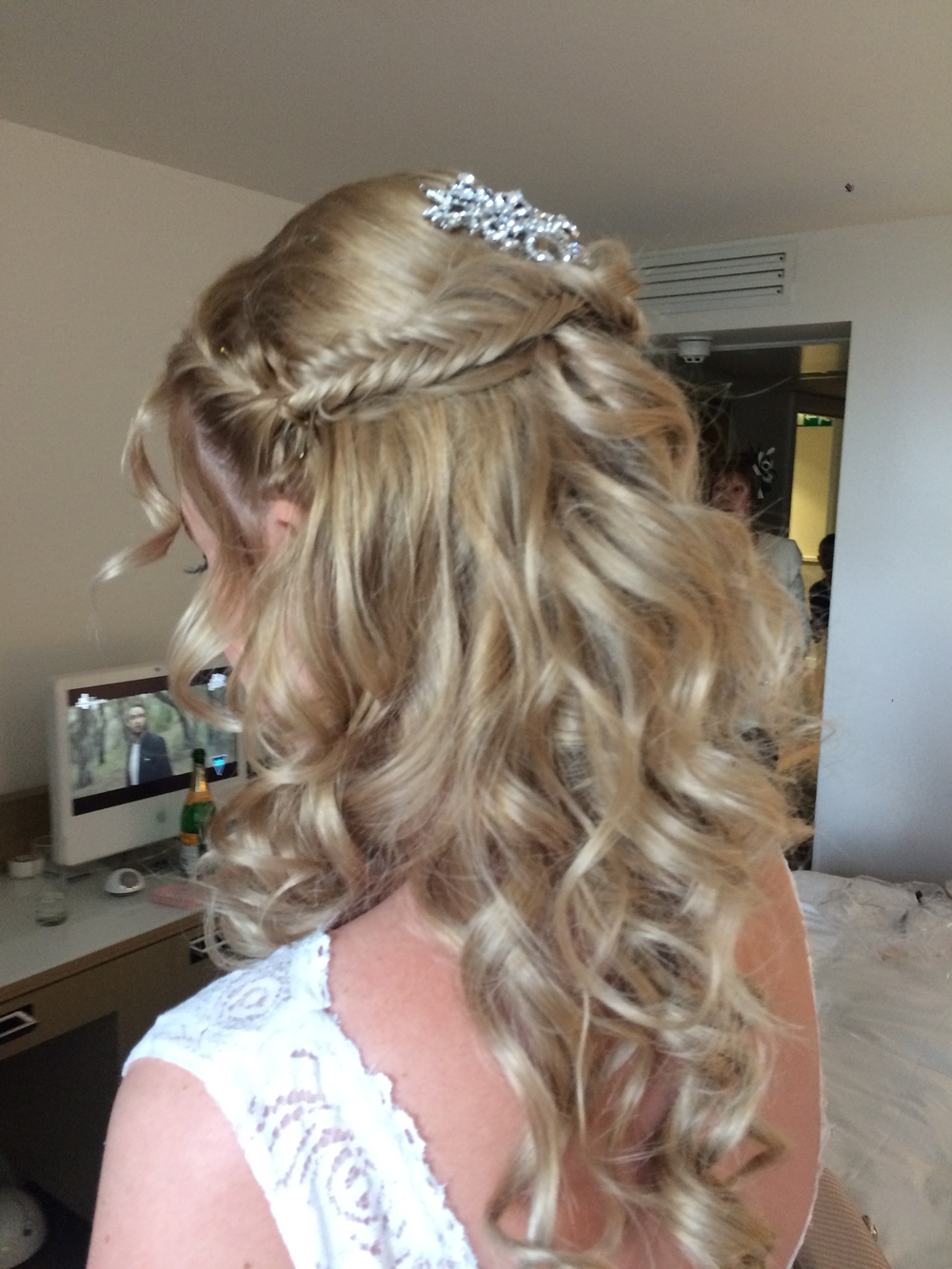 bridal hair styles wedding hair and makeup wirral fade haircut of wedding 8145