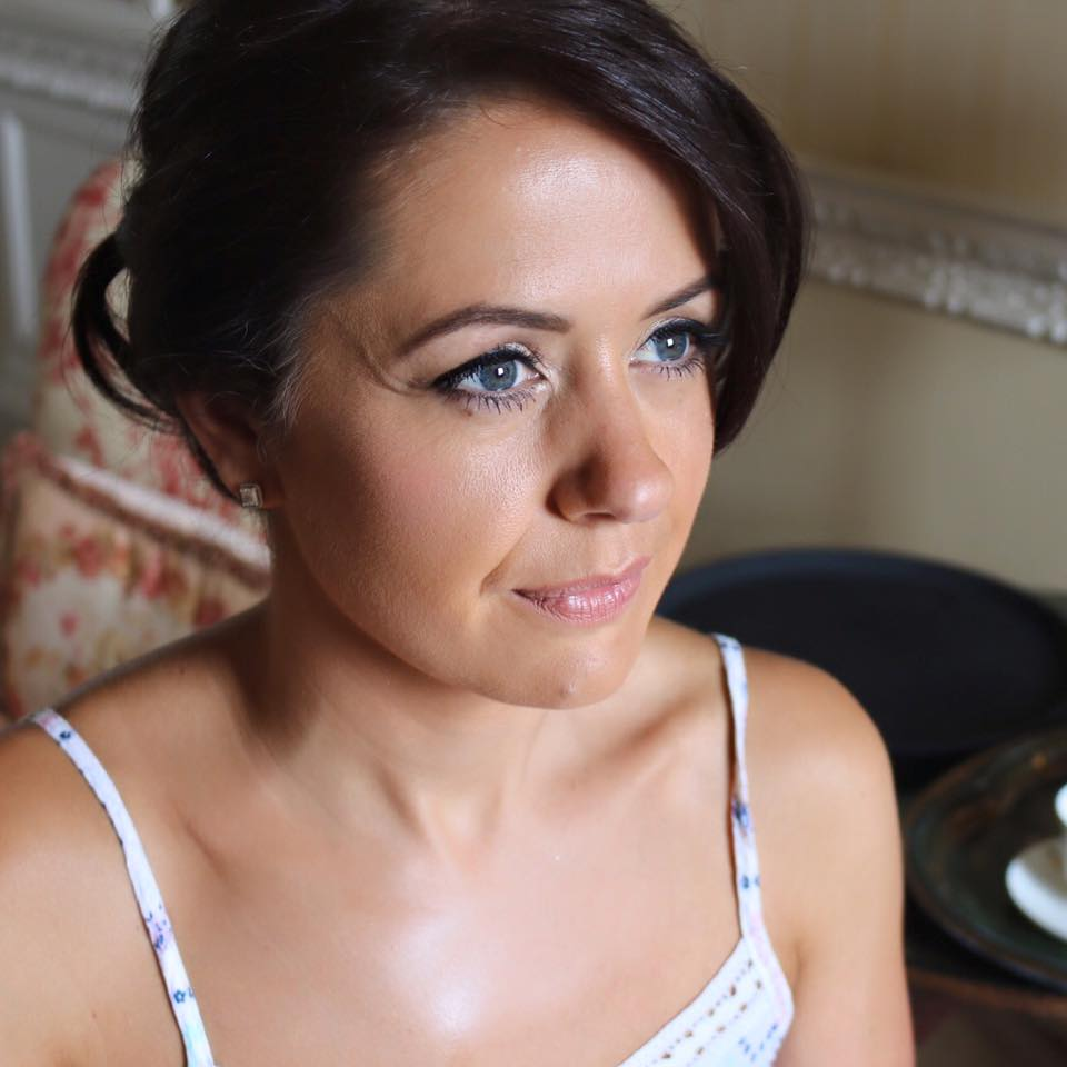 Wedding Make Up Orchid Blush