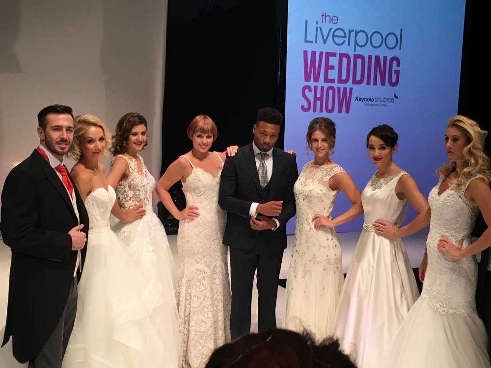 Liverpool Wedding Show Hair and Make Up Orchid Blush
