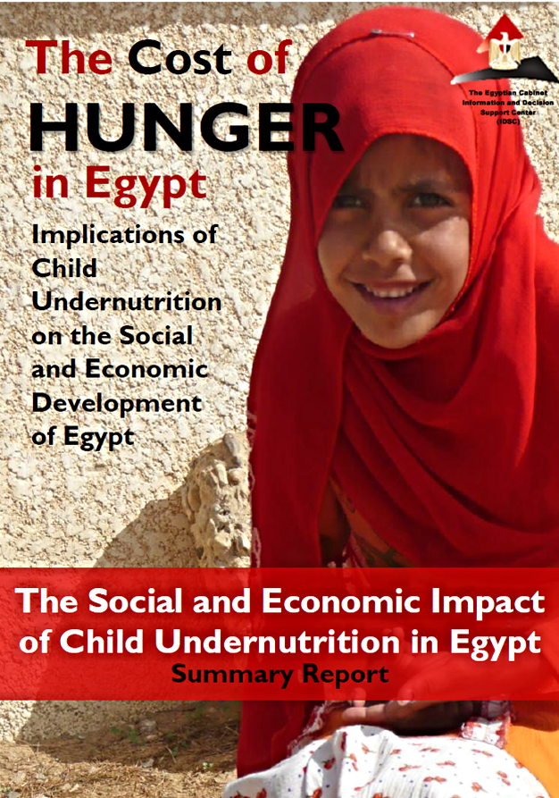 Cost of Hunger in Egypt Abridged Report (25 pages, 1.2MG)