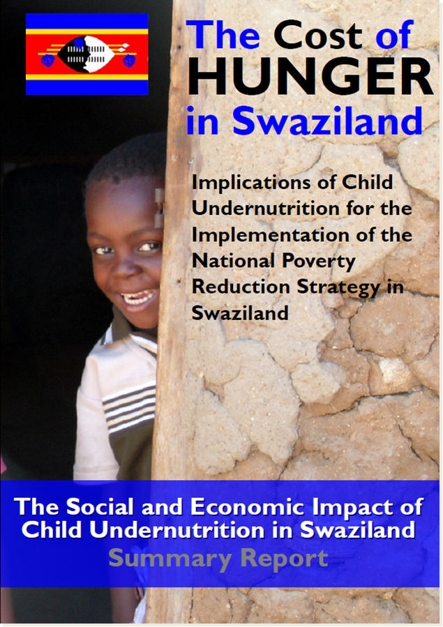 Cost of Hunger in Swaziland Summary Report (25 pages, 2MG)