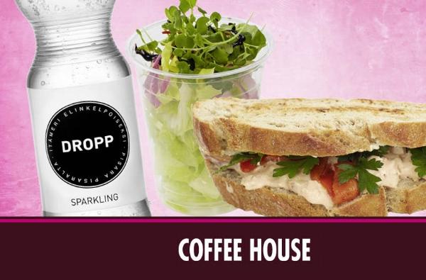 DROPP lounastarjous Coffee Housessa loppuvuoden ajan.