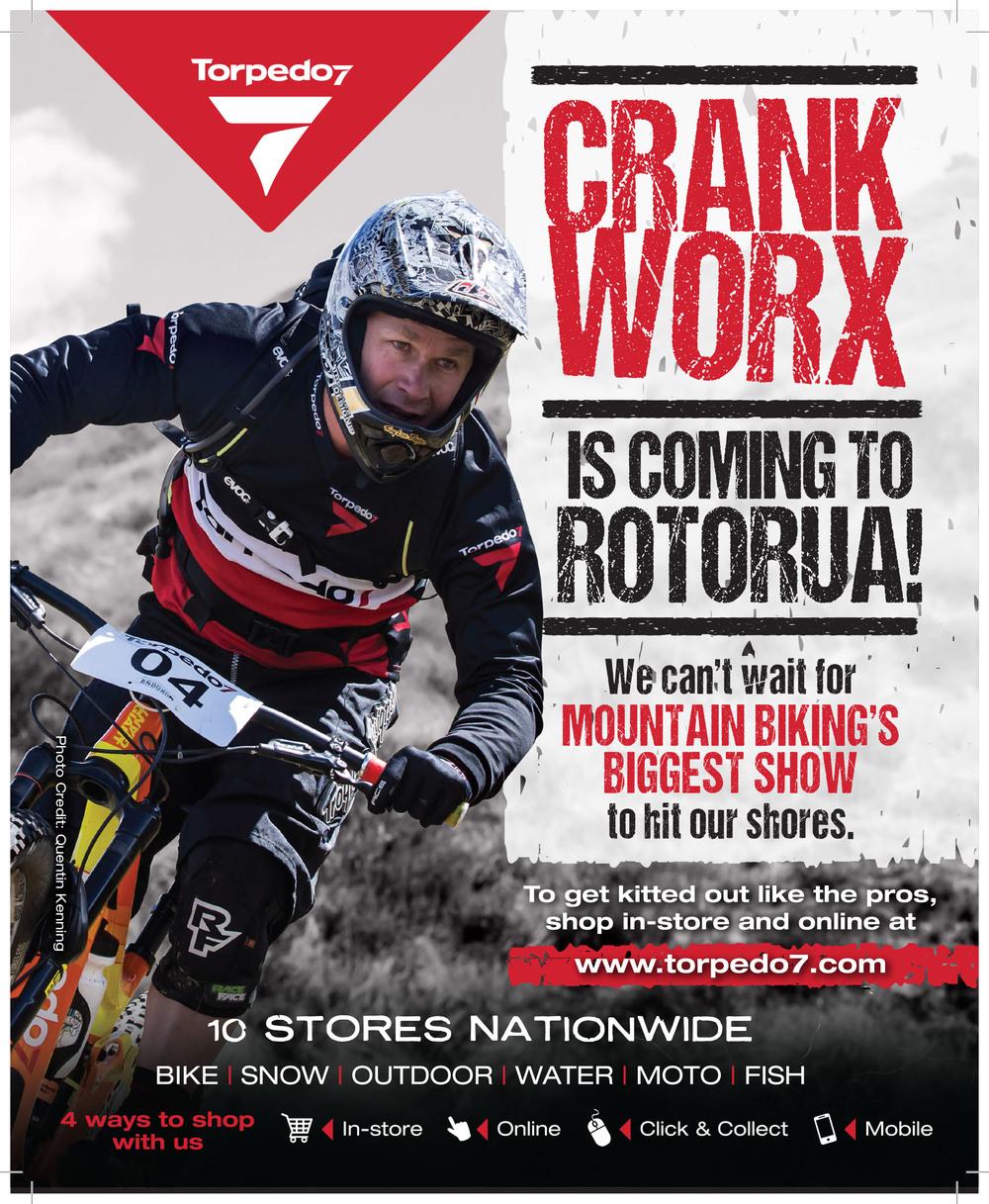 T7 Spoke Crankworx Advert in Spoke Magazine