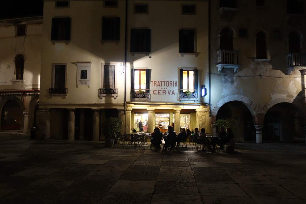 Once again, Trattoria alla Cerva from the piazza. Go to this place if you are ever in Vittorio, seriously.