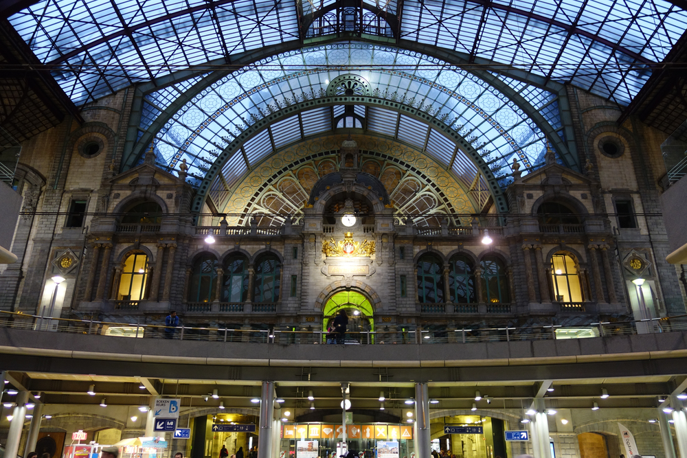 Antwerp Centraalstation never ceases to amaze.