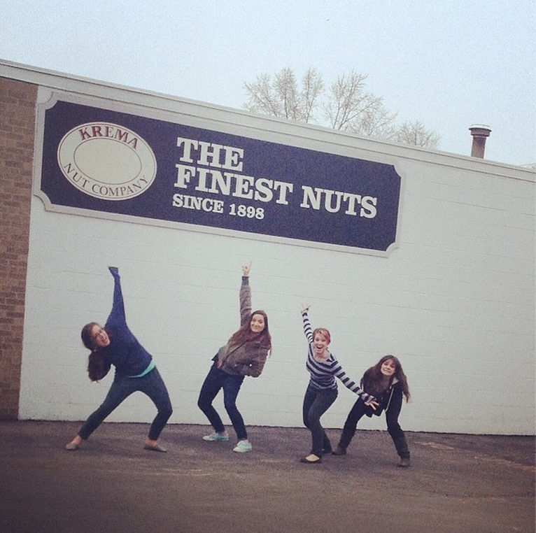 ...with the nuttiest nuts in town :)