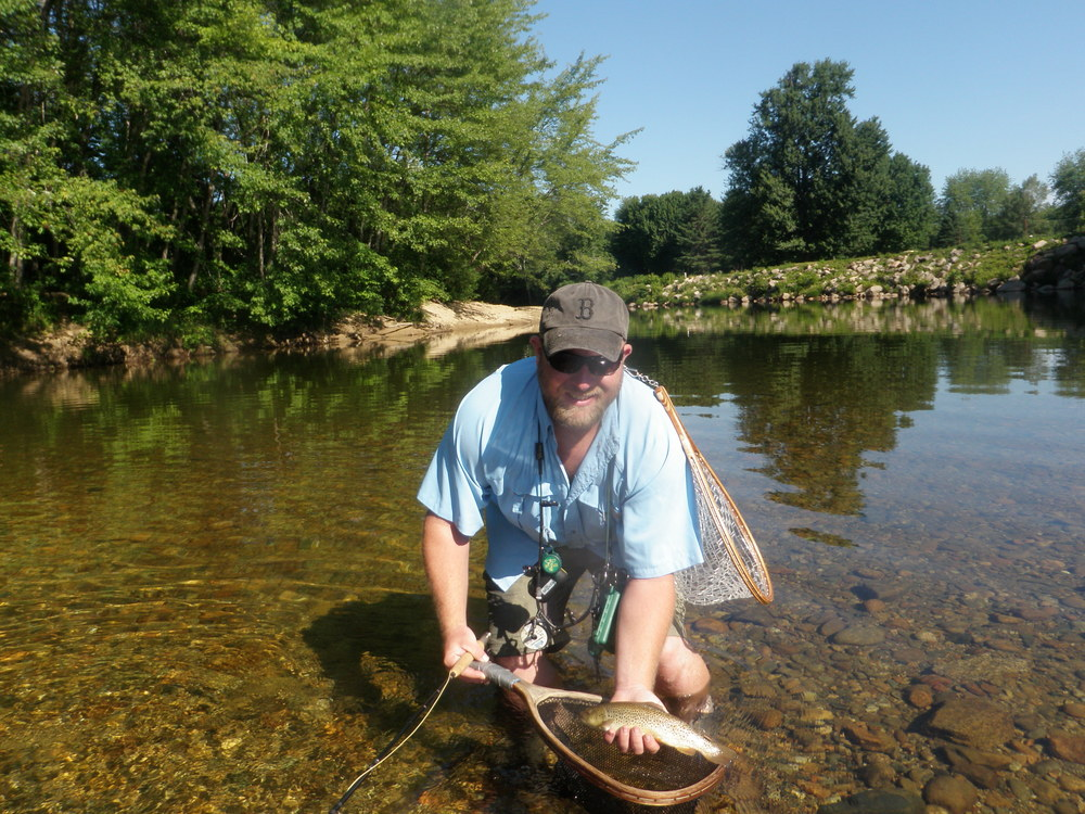 Saco river photos guided fly fishing trips new for White river fishing guides