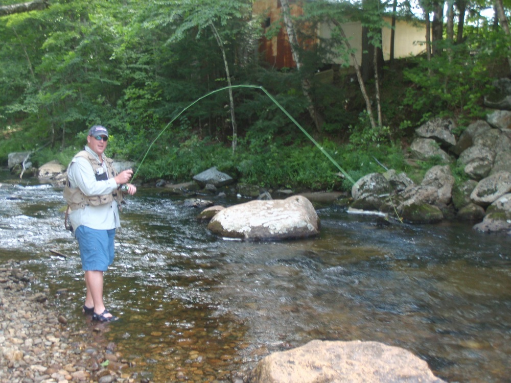 Ellis river fly fishing guided fly fishing trips new for Best trout fishing in new hampshire