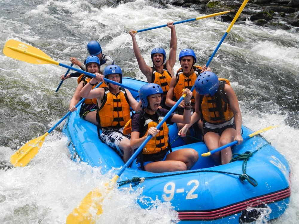 Maine Rafting