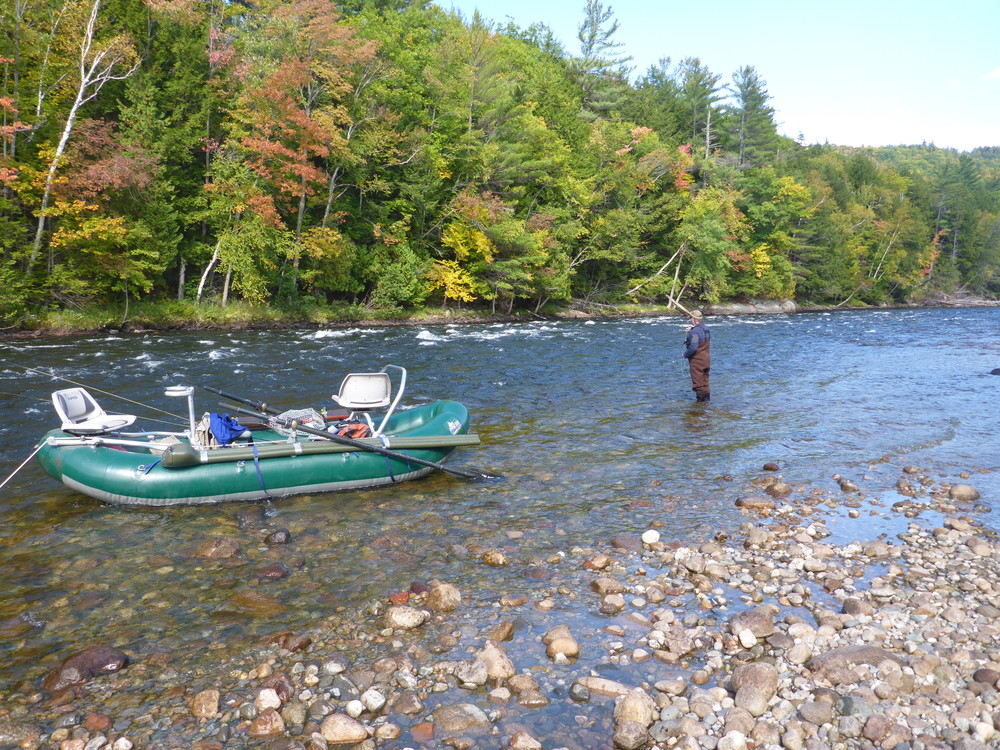 Androscoggin river fly fishing guided fly fishing trips for Best trout fishing in new hampshire