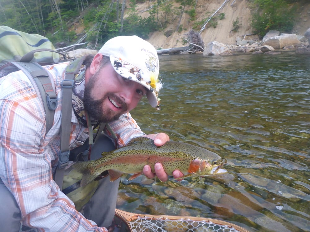 A Saco Bow taken by yours truly during a late afternoon BWO hatch in early August.