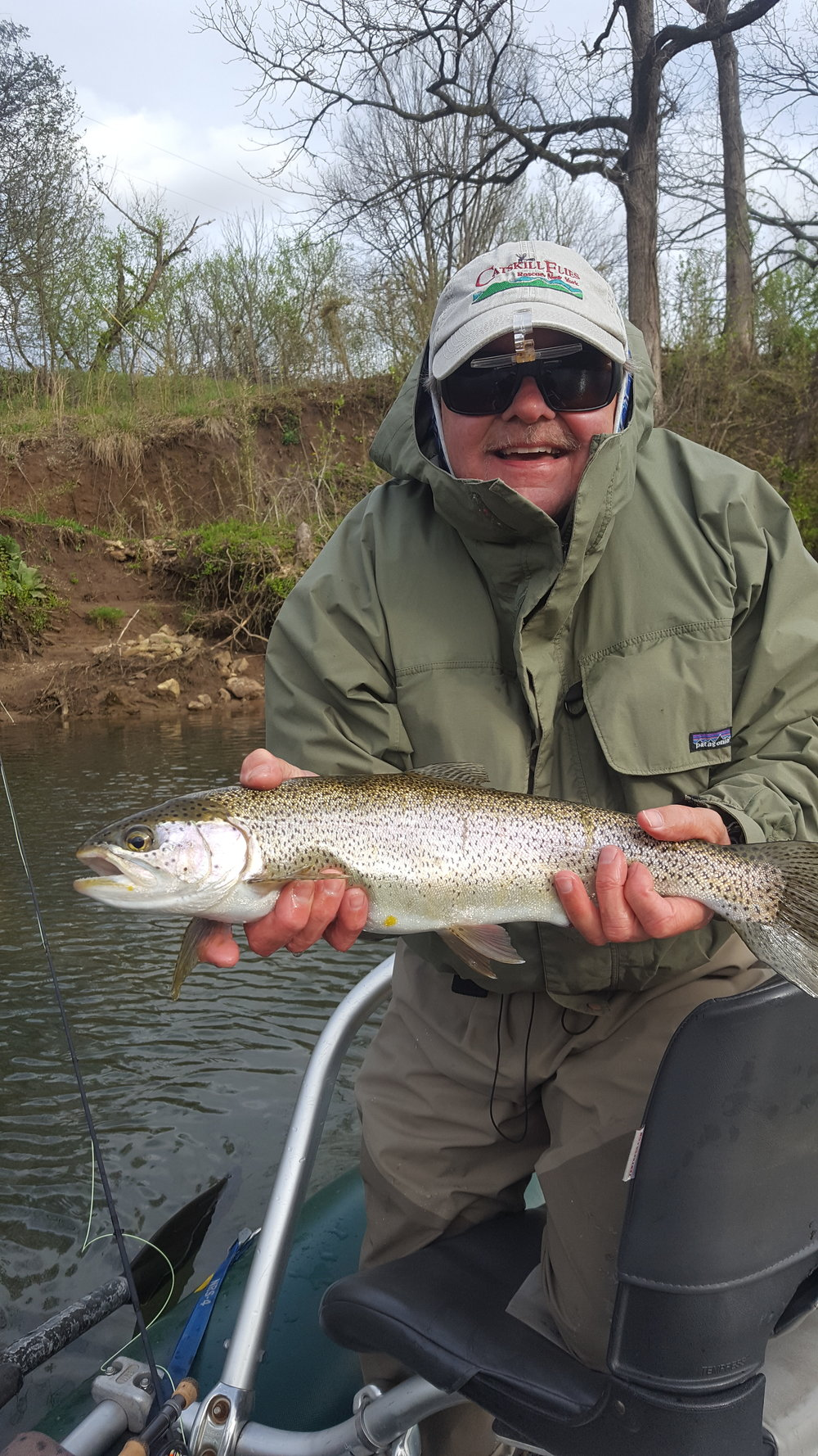 An Average Norfork River Rainbow.