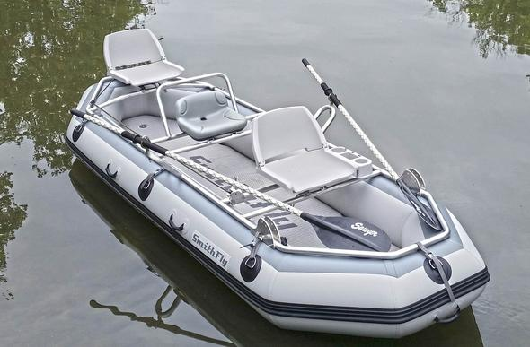 Our New Smithfly Big Shoals raft will get you to new and exciting waters!
