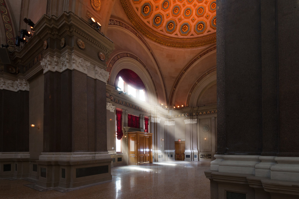 Interior, The Williamsburgh Savings Bank