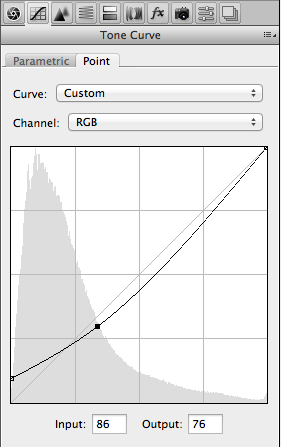 Universal curve editor in any post processing software.