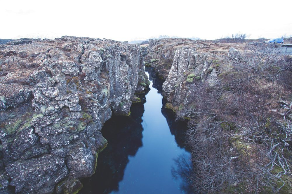 Rift Zone Stream, Þingvellir (Thingvellir) National Park