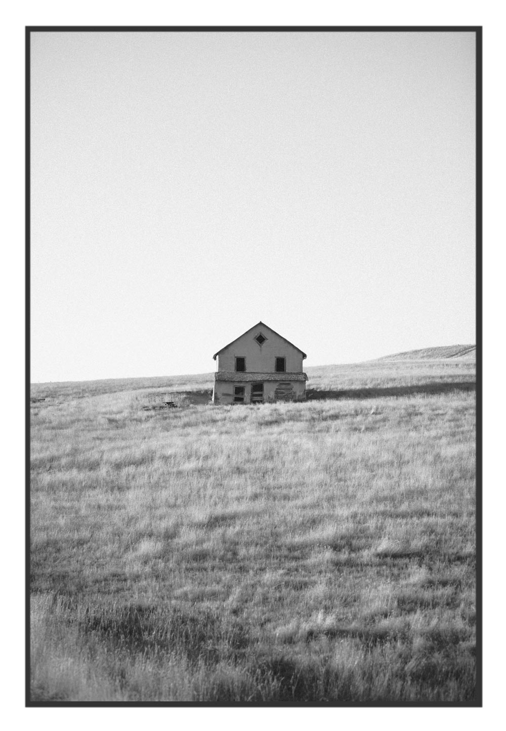 Abandoned Farmstead, Sturgis, South Dakota