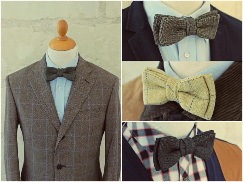 Peacock, Falcon, Partridge & Woodcock bow ties