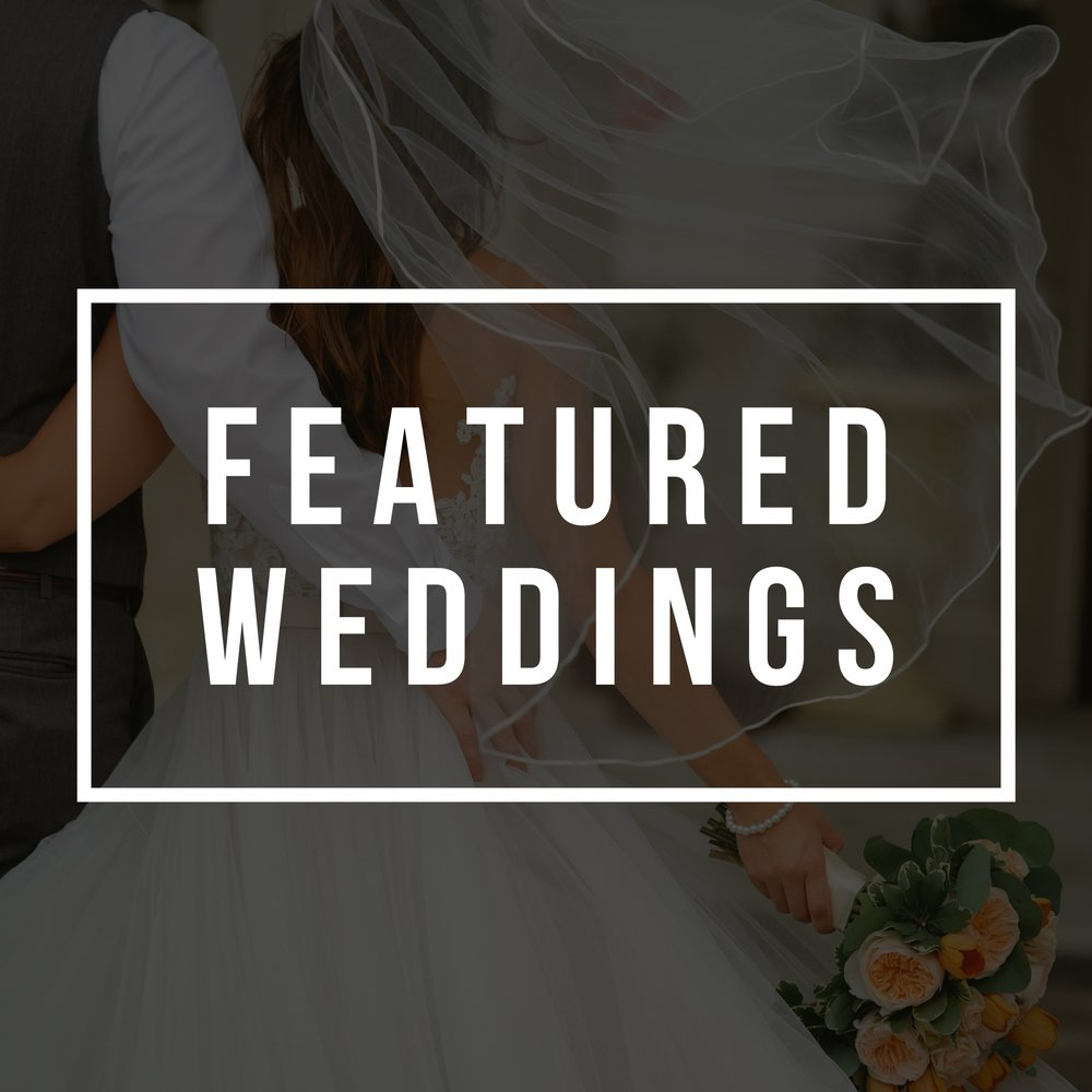 The blog // featuring our most recent weddings - And the 2017 year in review, from weddings all over the southeast!