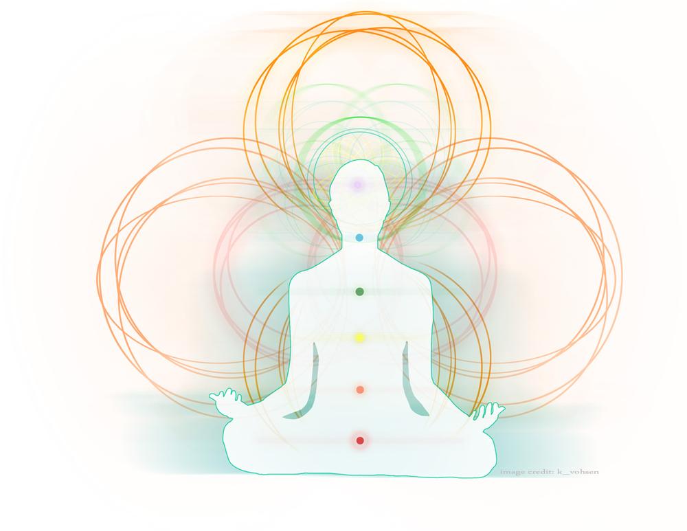 "Source: ""The Book of Chakra Healing"" by Liz Simpson, ""The ABC's of Chakra Healing"" by deedre Diemer, ""Los Chakras – Mandalas de Energía"" by Montserrat Estrada and Wikipedia. Image credit: k_vohsen."