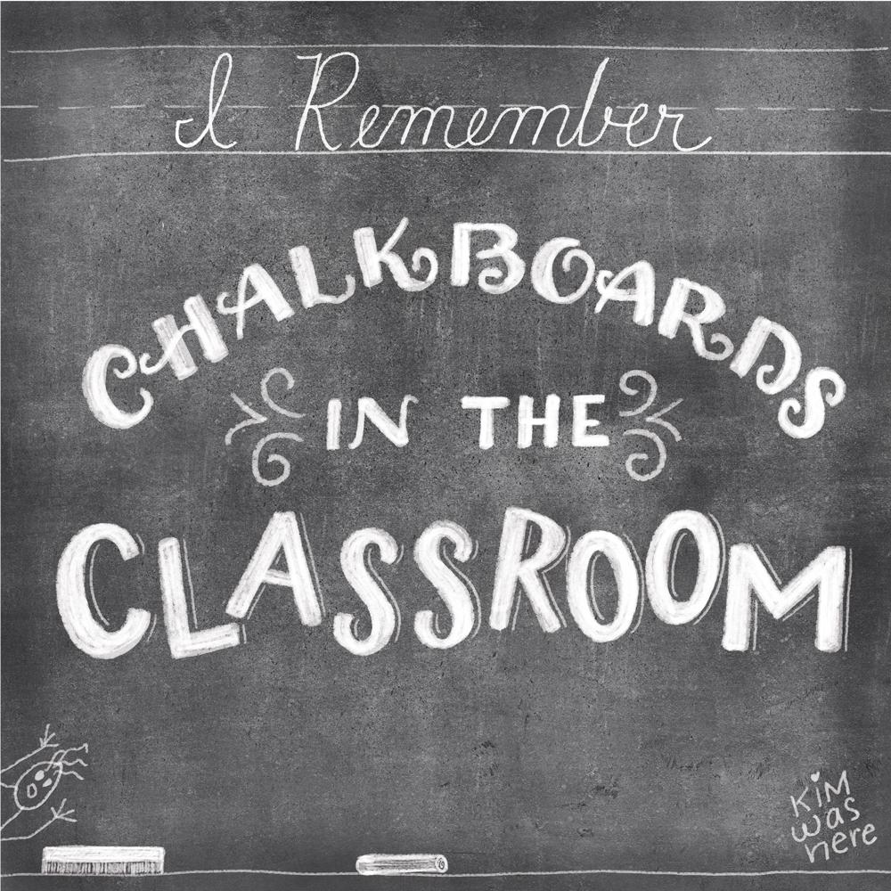 September 10, 2014 Chalkboards