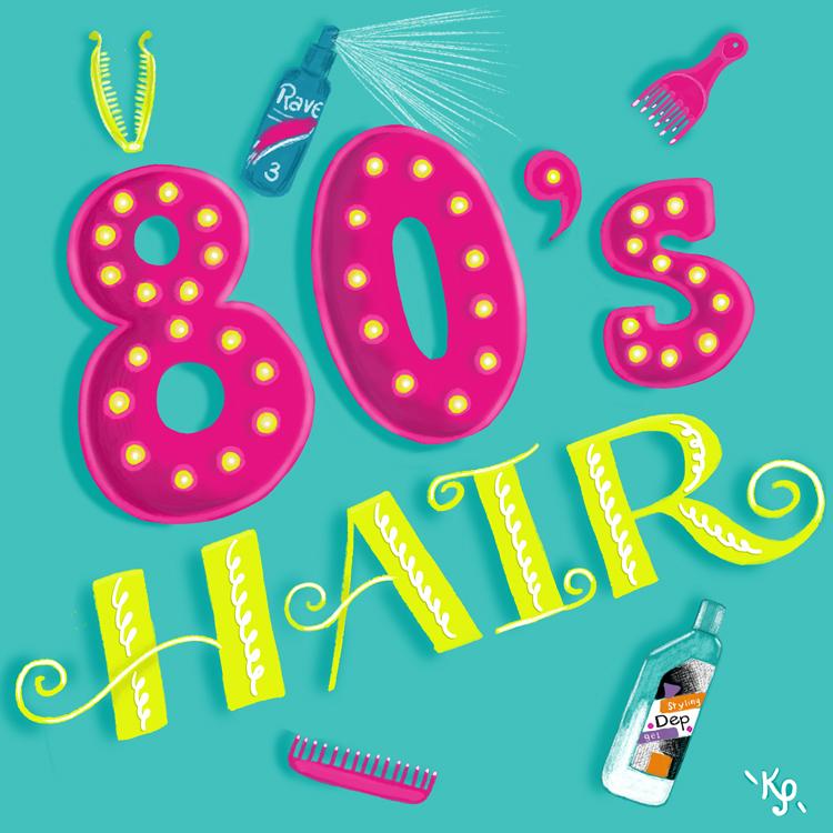 September 17, 2014 80's Hair