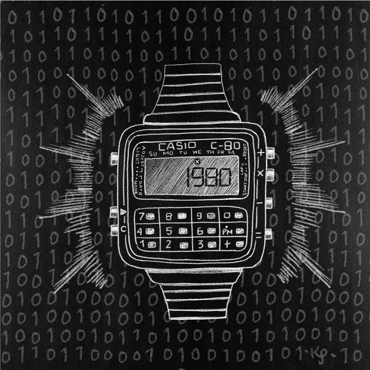 November 12, 2014 Calculator Watch