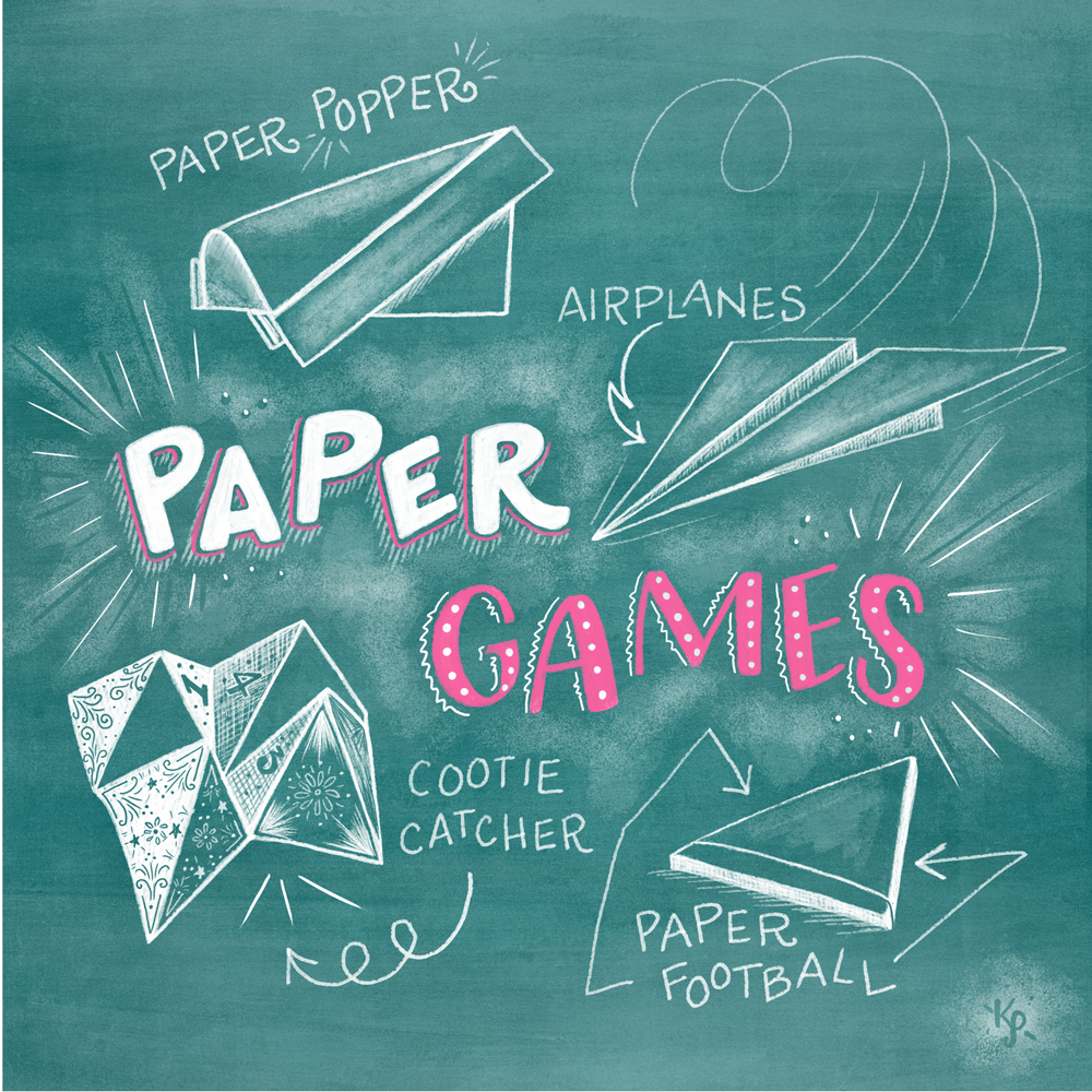 November 19, 2014 Paper Games