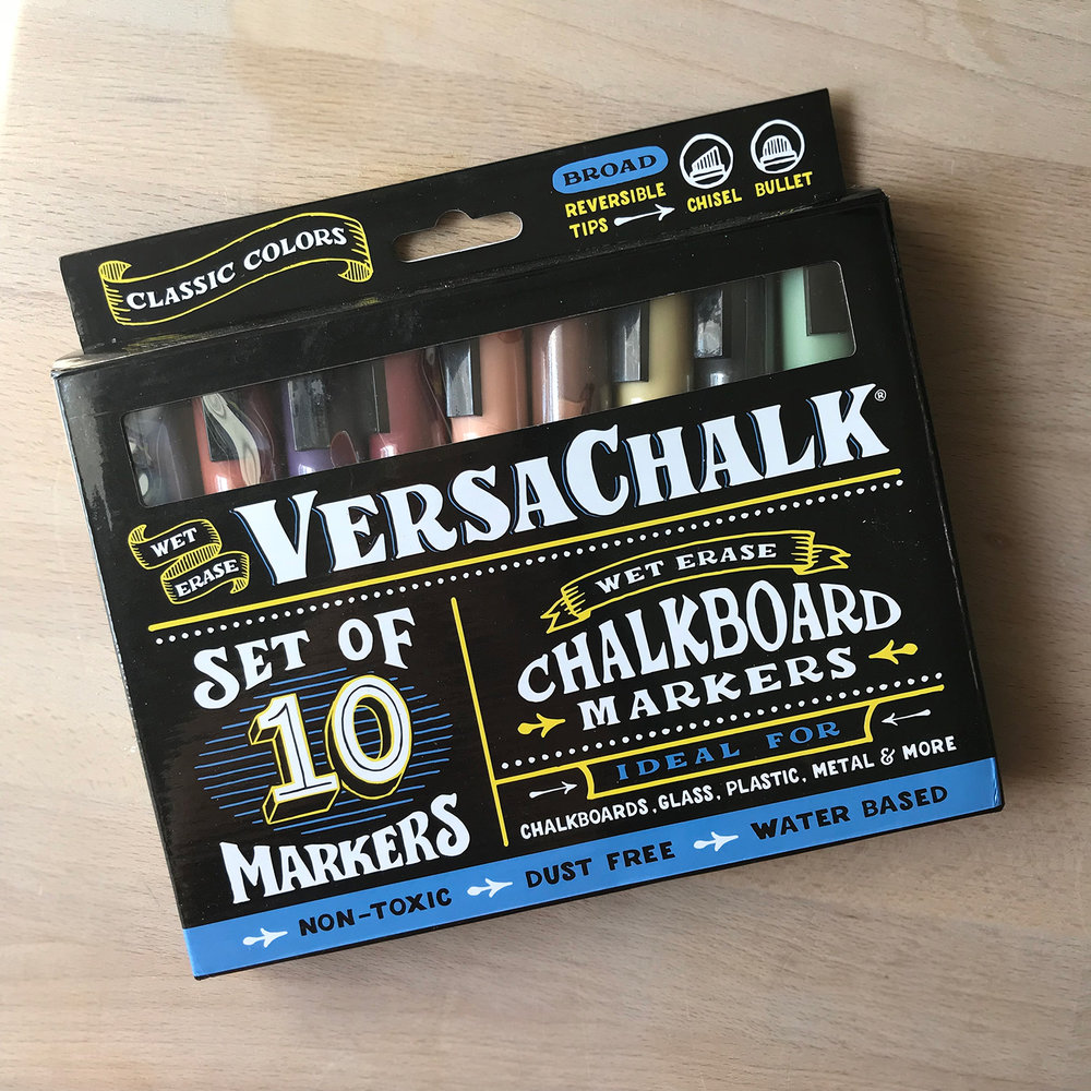 VersaChalk Markers - Classic Colors