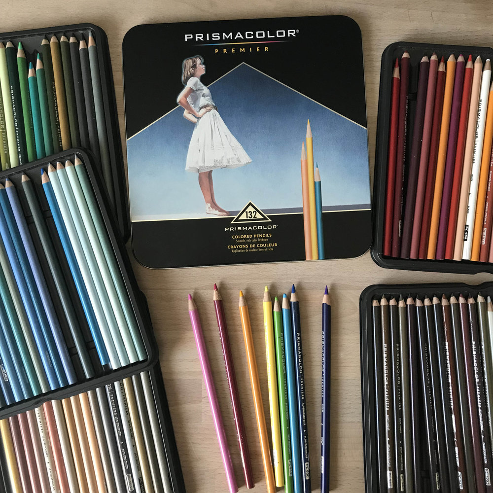 Premier Colored Pencils 132 Pack