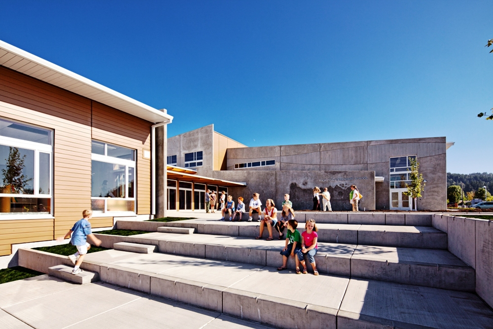 Thurston Elementary School, with Mahlum Architects