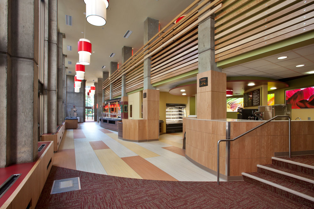 Barnhart Dining, University of Oregon