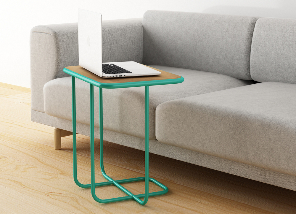 Line coffee table-Silvia Ceñal
